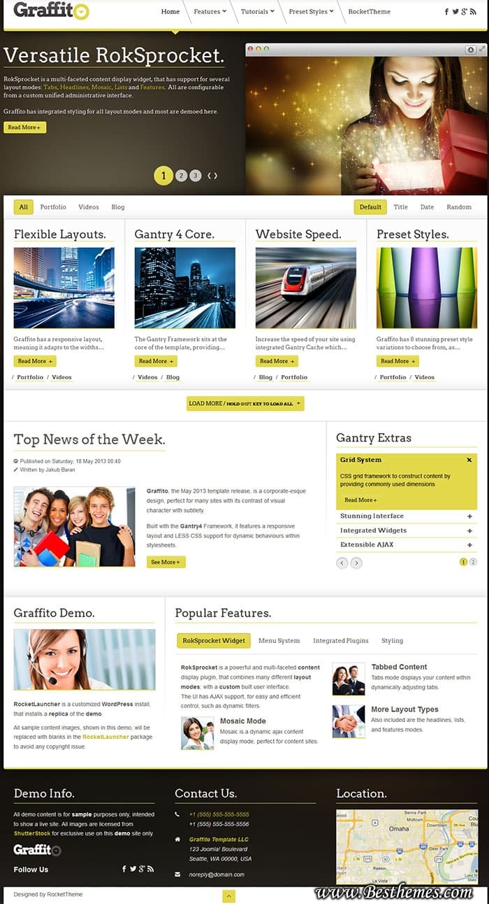 Graffito WordPress Theme, Download Graffito WordPress Template, Responsive Business WP Theme, Easy To Use Responsive WordPress Theme
